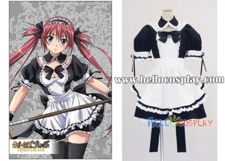 Queen's Blade Cosplay Maid Dress