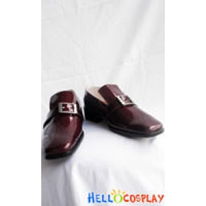 Black Butler Cosplay Ciel Phantomhive Brown Shoes