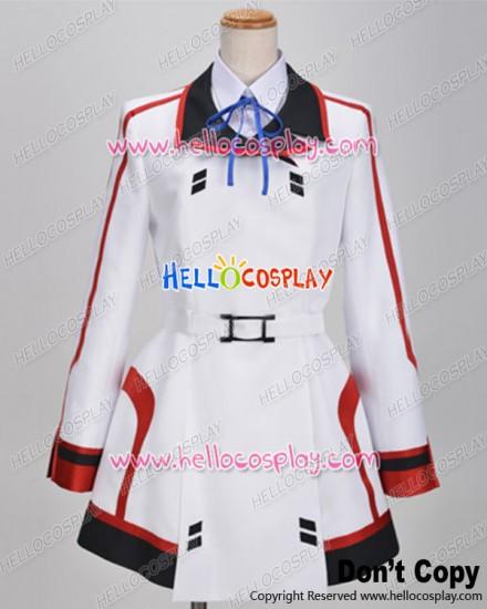 IS Infinite Stratos Cosplay Houki Shinonono Costume School Girl Uniform