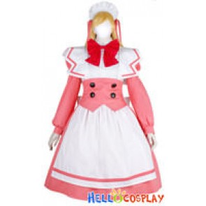 Shattered Angels Cosplay Setsuna Costume Dress