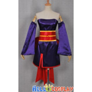 Dead or Alive DOA Ayane Cosplay Costume Dress