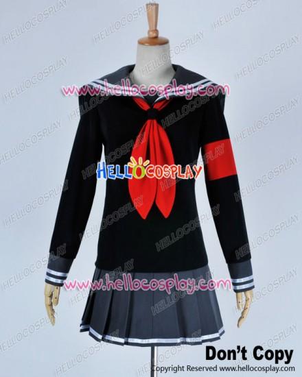 Super Danganronpa 2 Dangan Ronpa Cosplay Peko Pekoyama Costume Girl Uniform