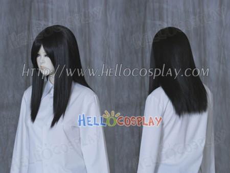 Black 50cm Cosplay Straight Wig