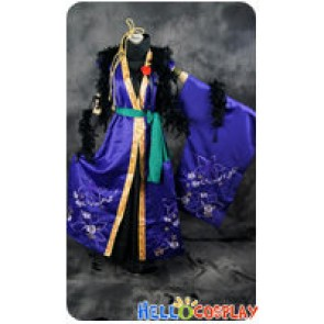 Vocaloid 2 Cosplay Kamui Gakupo Kaito Purple Uniform Costume