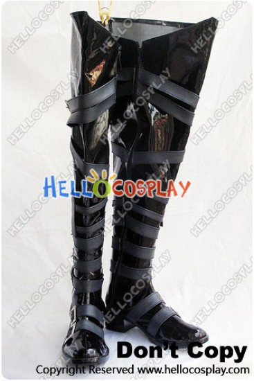 Black Butler Cosplay Undertaker Boots
