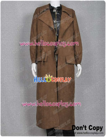 Harry Potter Costume Alastor Moody Mad-Eye Trench Coat