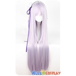 Re Zero Starting Life in Another World Emilia Cosplay Wig