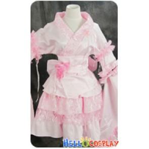 Lolita Cosplay Japan Kimono Dress Costume