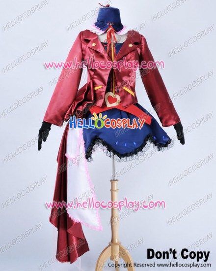 Macross Frontier Cosplay Sheryl Nome Dress Costume