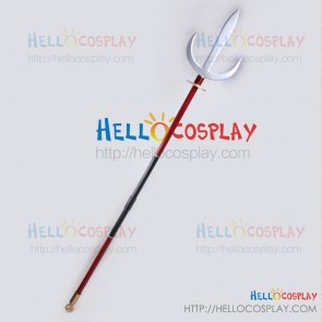 Samurai Warriors BASARA Cosplay Sanada Yukimura Spear Weapon Prop
