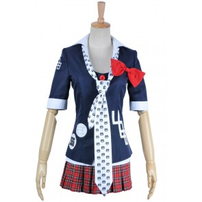 Danganronpa Dangan Ronpa Cosplay Junko Enoshima Costume School Girl Uniform