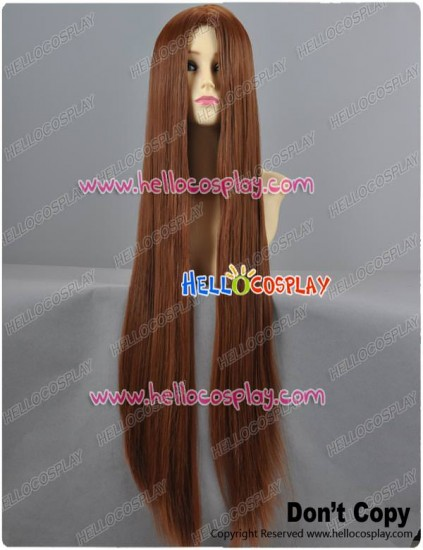 Warm Brown Long Cosplay Wig