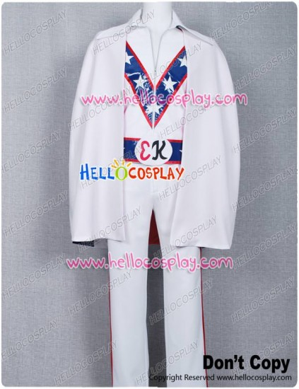 Motorcycle Daredevil Evel Knievel Cosplay Costume