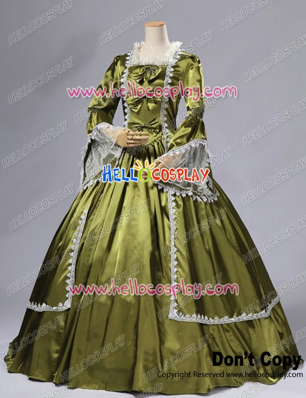 Marie Antoinette Victorian French Formal Period Ball Gown Stage ...