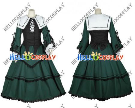 Rozen Maiden Jade Stern Cosplay Costume Lolita Dress