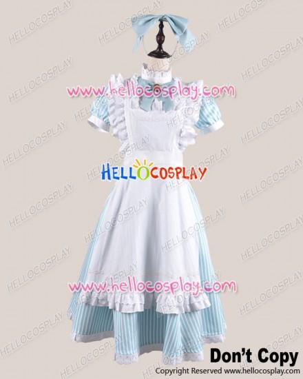 Amnesia Cosplay Heroine Costume Alice Maid Dress