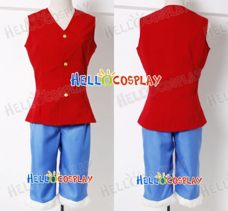 One Piece Monkey D.Luffy Cosplay Costume