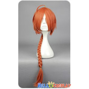 Gin Tama Kamui Cosplay Wig Orange