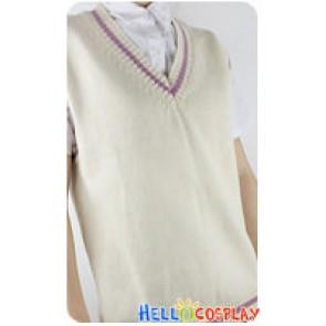 Mawaru Penguindrum Cosplay Takakura Kanba Sweater Vest
