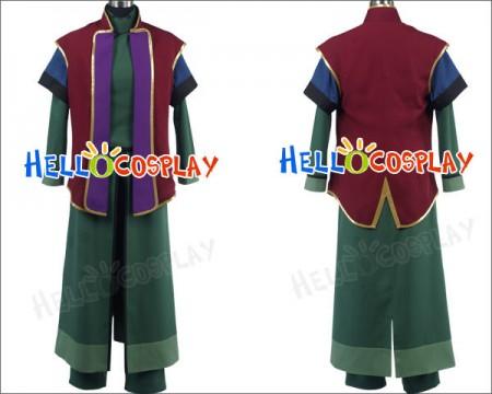 Gundam 00 Mr Bushido Cosplay Costume Uniform