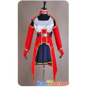Sword Art Online Silica Cosplay Costume Dress