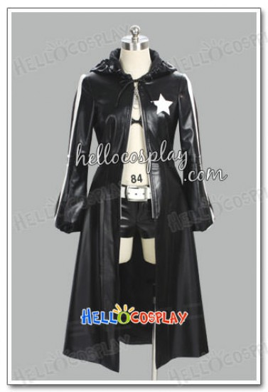 Black Rock Shooter Cosplay Leather Costume
