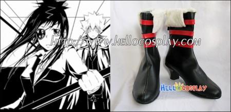 Katekyo Hitman Reborn Cosplay Chrome Dokuro Short Boots