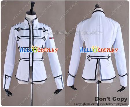 My Chemical Romance Ladies Military Jacket White