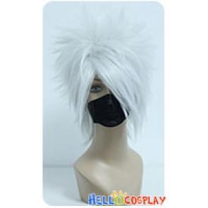 Naruto Kakashi Hatake Cosplay Wig White