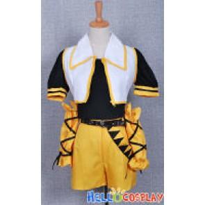 Vocaloid 2 Cosplay Secret Police 2 Rin Kagamine Costume