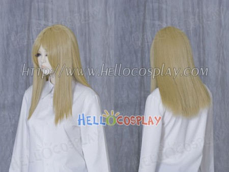 Blonde 50cm Cosplay Straight Wig