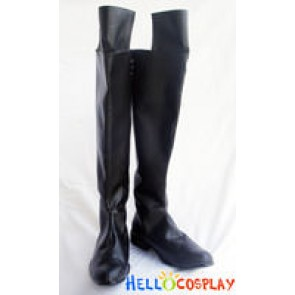 Mobile Suit Gundam Wing Wing Cosplay Zechs Marquise Boots
