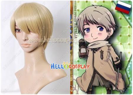Axis Powers Hetalia APH Cosplay Russia Ivan Braginski Wig
