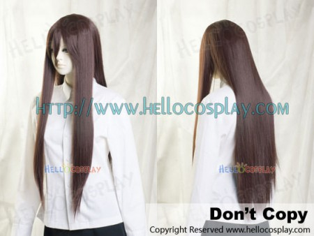 Dark Chocolate Brown Medium Cosplay Wig