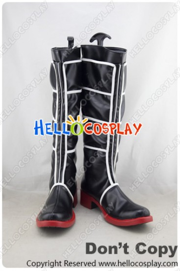 Kantai Collection Combined Fleet KanColle Cosplay Shoes Black Boots