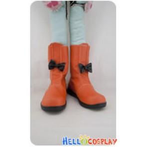 Pokemon Cosplay Shoes Biancabel Orange Boots