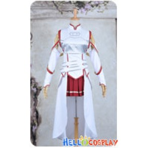 Sword Art Online Cosplay Asuna Yuuki Combat Uniform Costume