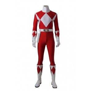 Mighty Morphin Power Rangers Tyranno Ranger Geki Cosplay Costume