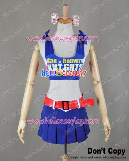 Lollipop Chainsaw Cosplay Juliet Costume