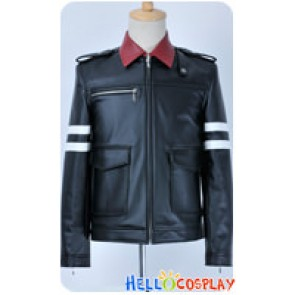 Prototype Cosplay Alex Mercer Leather Black Coat Jacket Costume