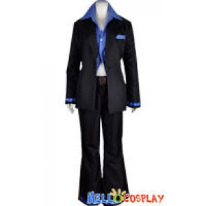 Vocaloid 2 Cosplay Costume Kaito Black Suit