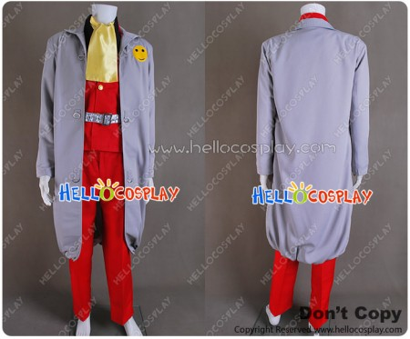 The Irresponsible Captain Tylor Cosplay Justy Ueki Tylor Costume
