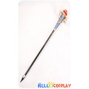 The Legend Of Heroe Cosplay Blblanc Hand Staff Stick
