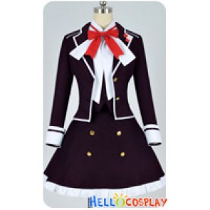 Diabolik Lovers Cosplay Yui Komori Purple Uniform Costume