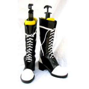 Black Butler Ciel Phantomhive Black And White Boots