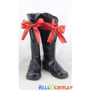 Love Live! Cosplay Shoes Nico Yazawa Boots Black
