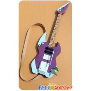 Macross Frontier 7 Cosplay Nekki Basara Guitar Prop