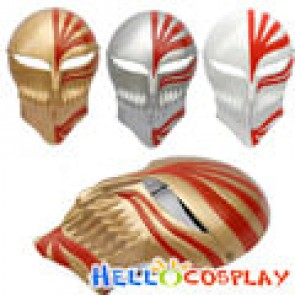 Ichigo Whole Face Hollow Mask - Gold Color