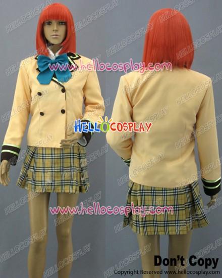 PreCure Cosplay Winter School Girl Uniform Costume
