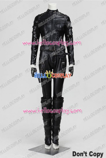 Green Arrow Black Canary Cosplay Costume Uniform